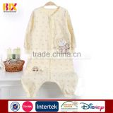 hebei textile cotton embroiedery teddy bear kids sleeping bag