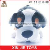 custom plush pet dog toy with music lovely soft talking dog for kids eco-friendly material plush electronic dog toy