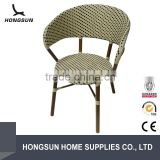 Factory sale Bamboo look outdoor artificial rattan furniture