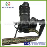Wholesale promoting personalized detachable polyester woven dslr canvas camera neck strap manufacturer
