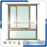 Sliding window with double tempered glass aluminum profile small sliding windows