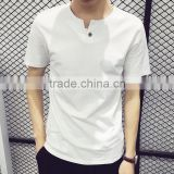 Cheap 70% Bamboo 30% Organic Cotton Shirt for Men, Blank Cotton Bamboo T shirts Wholesale