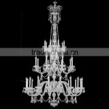 big chandelier for wedding decor/ wedding hall decoration lights/ crystal chandelier candelabra