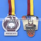 customized basketball game souvenir medal, basketball association gifts metal medal winner medals