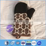 kitchen accessories designer fabric design kitchen heat resistant microwave silicone oven mitt