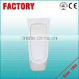 Popular waterless urinal partition mounted wall stall urinal blocks WC corner urinal sensor price