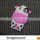 For iphone 6 plus 6 5s 5 Case Shimmering Powder Brushed Silicon Relief Painting Phone Cases Milk Cow Black Dots