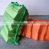 Manufacturer customize cheap fruit mesh bag/drawstring mesh bag/swim mesh bag