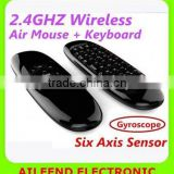 c120 For Android PC Keyboard Remote Air mouse air mouse laser remove control