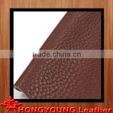 beautiful litchi grain leather for car seat,bed,chair cover
