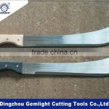 bush cutter fixed blade bowie knife,east africa hunting knife, Cold Steel Machete                                                                         Quality Choice
