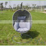 Swingasan wicker used hanging egg chair
