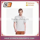 stan caleb Customized sublimation men polo shirt Golf clothing mesh bowling shirt