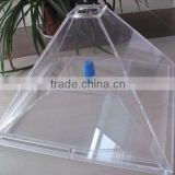 Custom makrolon polycarbonate machine hood/Makrolon machine cover shield
