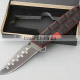 OEM 440 Stainless Steel Outdoors Camping Tools pocket knife in knife UDTEK01901