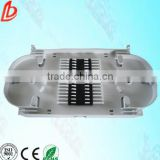 24 ports Fiber Optic Splice Tray plastic material for telecommunication product solutions