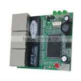 OEM 5v 7.5v 9v 12v 18v 24v 3 port mini ethernet switch board