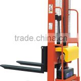 1000kg 1600mm Semi-Electric Stacker EMS series