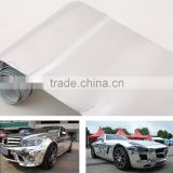 6'' * 60'' Chrome Mirror Silver Vinyl Wrap Sticker Decal Film Sheet Self-adhesive Air Bubble Free