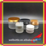 5g 10g 15g 20g 30g 50g 100g glass jar with frosted glass jar for cosmetic glass jar GJ581R