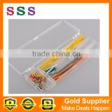 140pcs Solderless Breadboard Jumper Cable Wire Kits for Ard 22awg wire