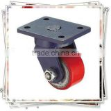 3 Inch Low Gravity Hercules PU Caster Wheel with Double Ball Bearing
