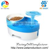 Double bowl Dog Feeding & Watering Supplies automatic dog grooming