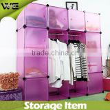 Children 16 doors plastic cabinets, plastic cabinets that can be used for storing clothes, shoes, toys