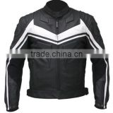 Motorcycle Leather Jacket, Motorcycle Racing Jacket, Black Motorcycle Leather Jacket, Motorbike Jacket