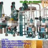 automatic maize milling machine corn grain flour mill machine for export