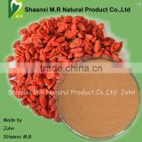 Factory supply Organic goji berries extract for 10:1 Polysaccharides for women health