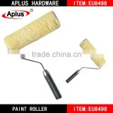 free art supply samples names of Aplus paint brushes durable polyester fine fabric lint free paint roller