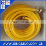 Orange Gas LPG PVC Hose / PVC Natural Gas Hose Used for Conveying Gas or Water in Family, Factories