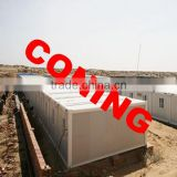 Modular fireproof container house