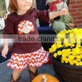 Wholesale Baby Boutique Clothing Set Western Fashion Kids christmas Clothes For Persnickety Baby Outfits