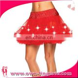 Hot image wholesale low price lady fashion youth midi skirt
