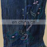 Wool Pashmina shawl with fancy embroidery