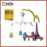 Cheap cartoon plastic baby mobile