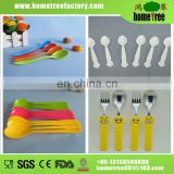 Good quality long handle serving plastic spoon