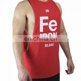 gym Singlet with pocket - Tank Top Stringer Vest Singlet men