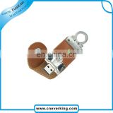 1gb 2gb 4gb 8gb 16gb 32gb usb flash drive with classy leather