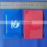 Cutomized soft pvc card protector sleeve