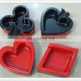 Poker shaped pocket plastic ashtray,car ashtray