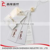 wholesale custom garment accessory card round hangtag