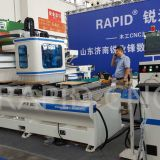 Heavy and high speed hot sale RD-3012 Single Arm CNC Router with PTP 3d cnc engraving machine