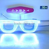 LIYI neon sign china design led optical sign for glasses shop with infrared remote control beer neon sign