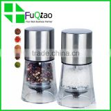 Trade Assurance stainless steel mini black salt and pepper grinder set                                                                         Quality Choice