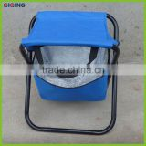Outdoor Picnic Cooler Bag Fishing Stool With Cooler Bag HQ-6007J-4                                                                         Quality Choice