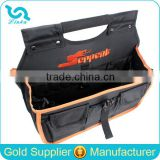 Heavy Duty 1680D Tool Tote Bag Multifunctional Tool Tote Bag Deluxe Black Portable Tool Tote Bag