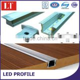 China manufacturer customized grade aluminium profile for led strips,aluminium profile led